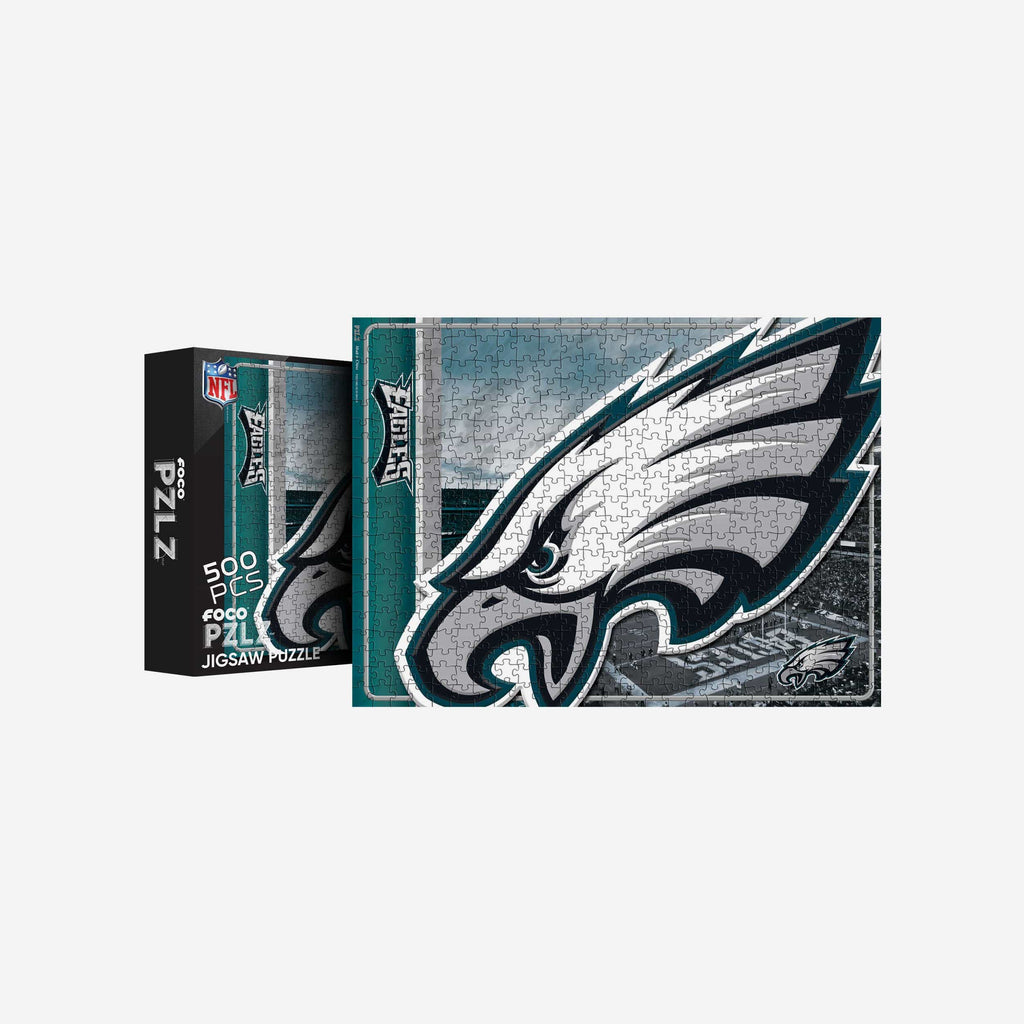 Philadelphia Eagles Big Logo 500 Piece Jigsaw Puzzle PZLZ FOCO - FOCO.com