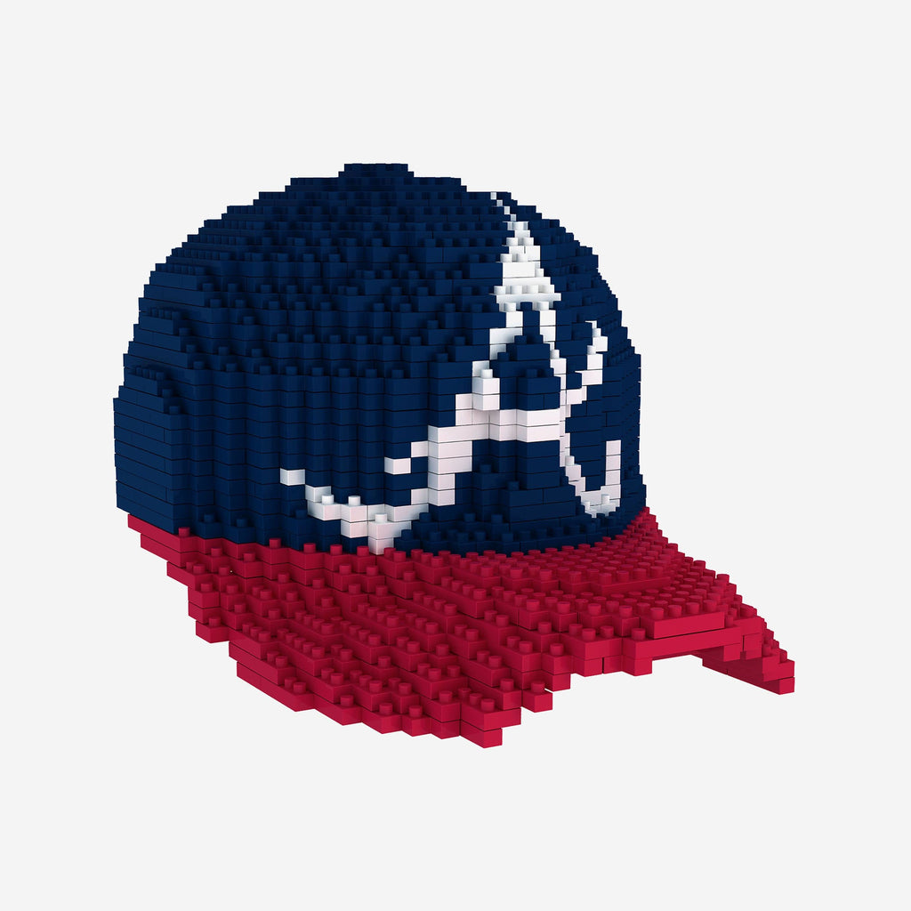 Atlanta Braves BRXLZ Mini Caps