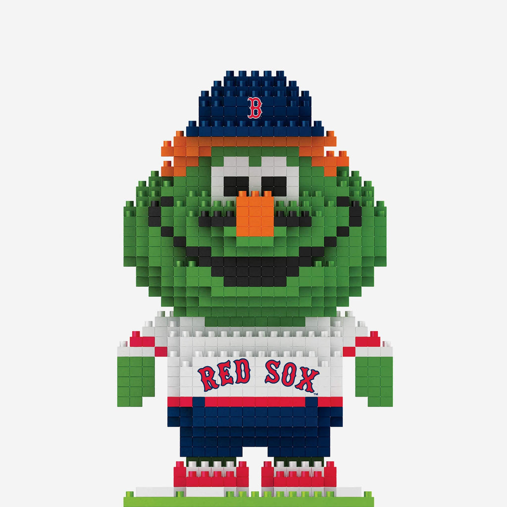 Wally the Green Monster Boston Red Sox BRXLZ Mascot