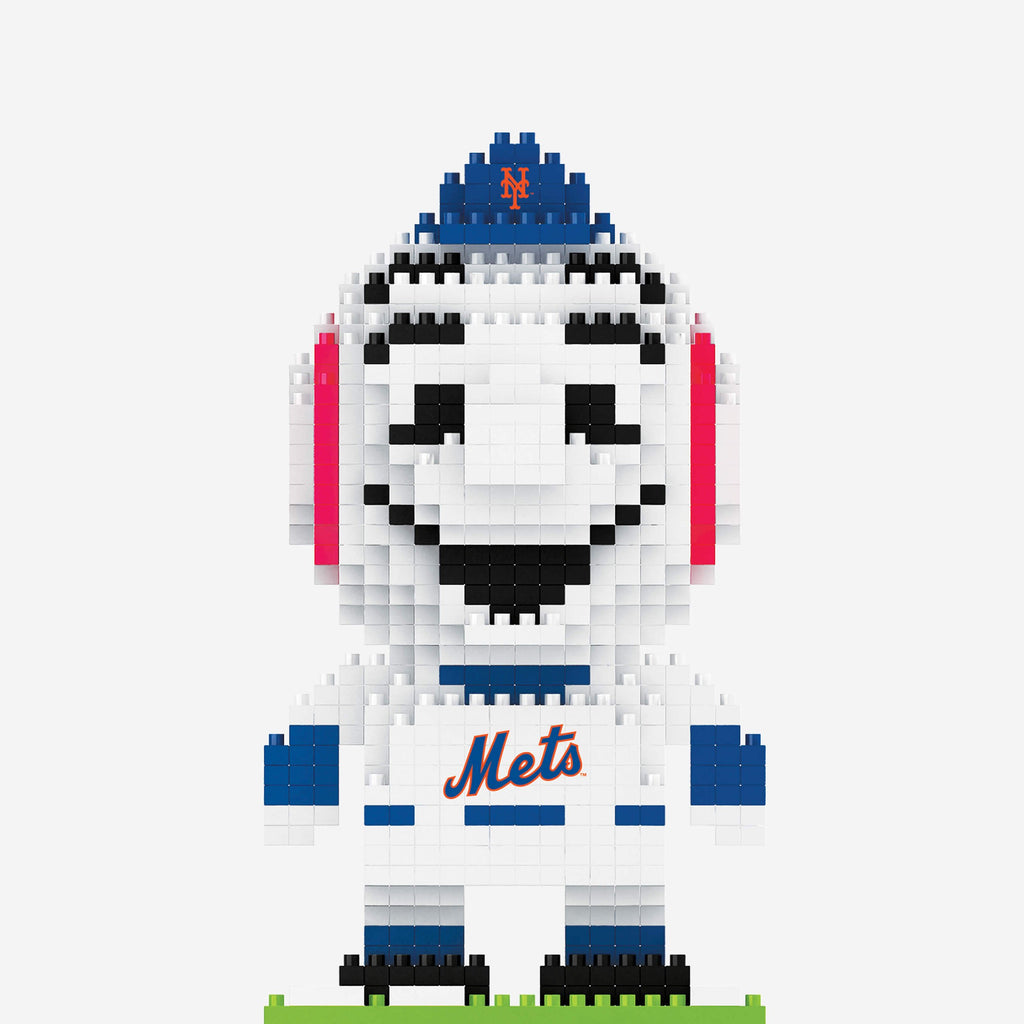 Mr Met New York Mets BRXLZ Mascot