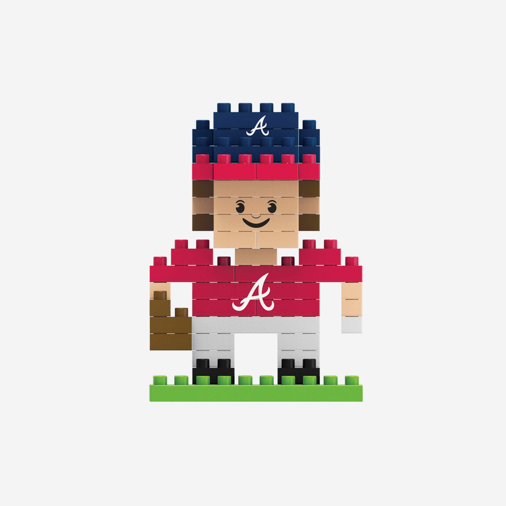 Atlanta Braves BRXLZ Mini Player