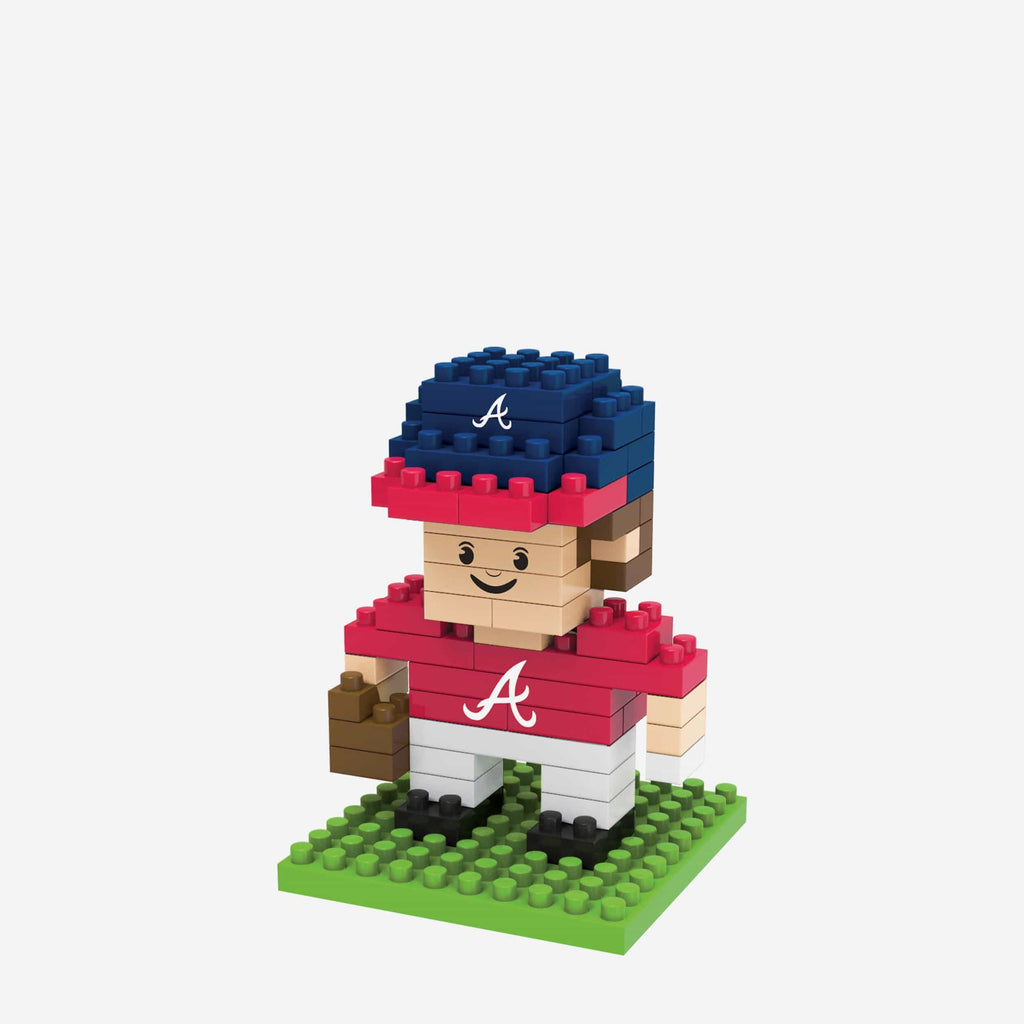 Atlanta Braves BRXLZ Mini Player FOCO - FOCO.com