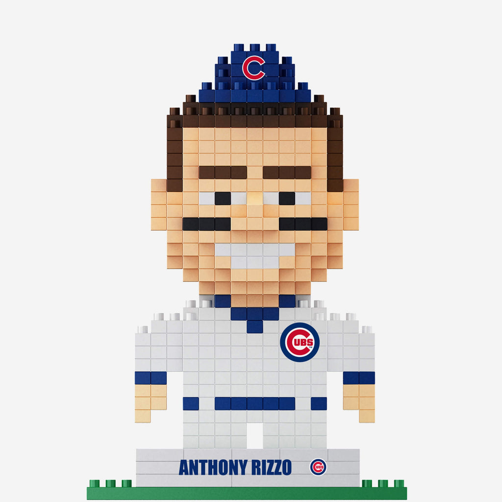 Anthony Rizzo Chicago Cubs BRXLZ Mini Player