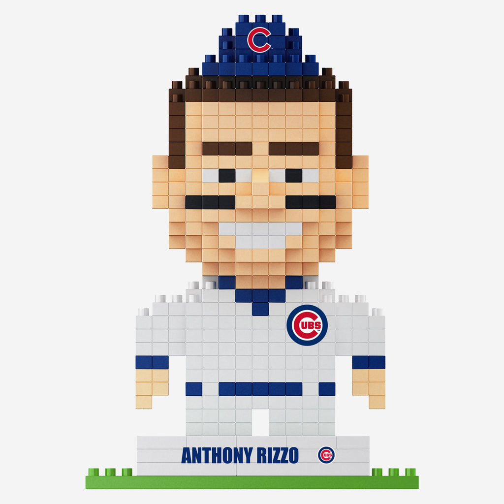 Anthony Rizzo Chicago Cubs 2016 World Series Champions BRXLZ Mini Player