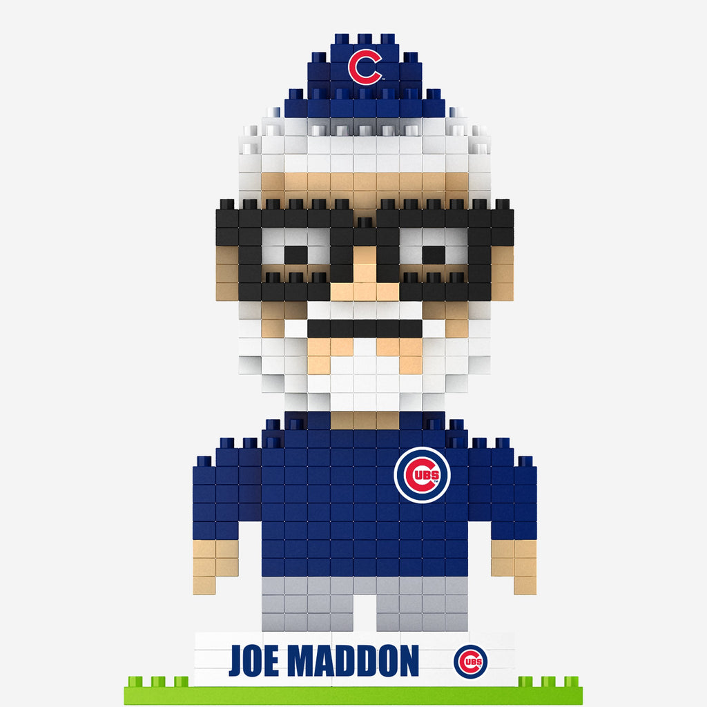 Joe Maddon Chicago Cubs 2016 World Series Champions BRXLZ Mini Player