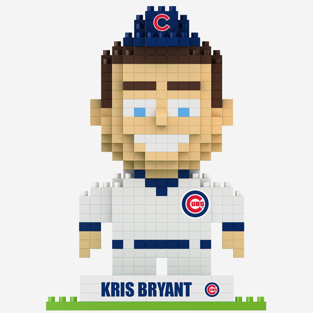 Kris Bryant Chicago Cubs 2016 World Series Champions BRXLZ Mini Player