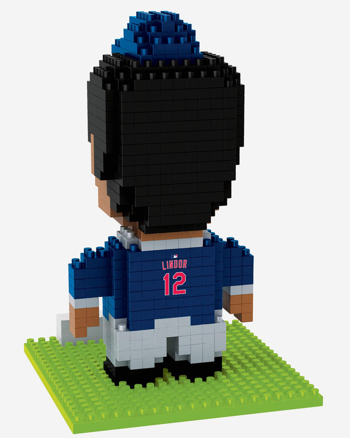 Francisco Lindor Cleveland Indians BRXLZ Mini Player FOCO - FOCO.com