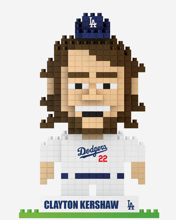 Clayton Kershaw Los Angeles Dodgers BRXLZ Mini Player FOCO - FOCO.com
