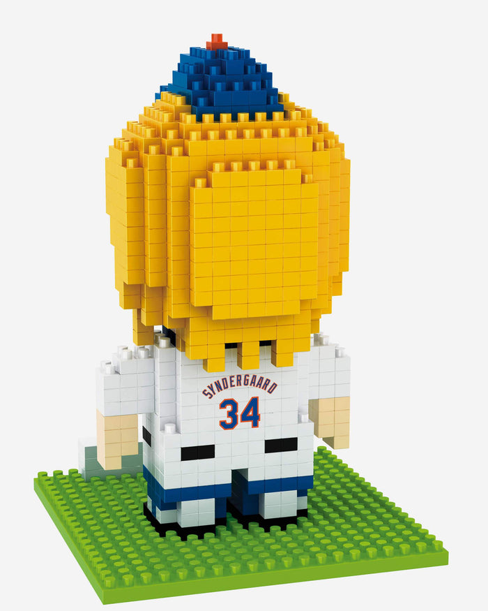 Noah Syndergaard New York Mets BRXLZ Mini Player FOCO - FOCO.com