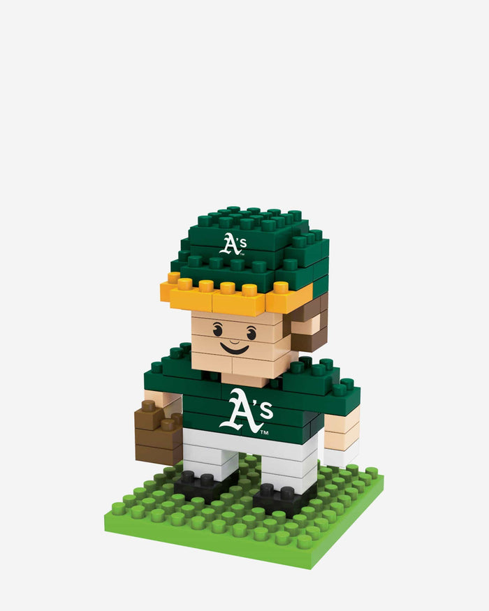 Oakland Athletics BRXLZ Mini Player FOCO - FOCO.com