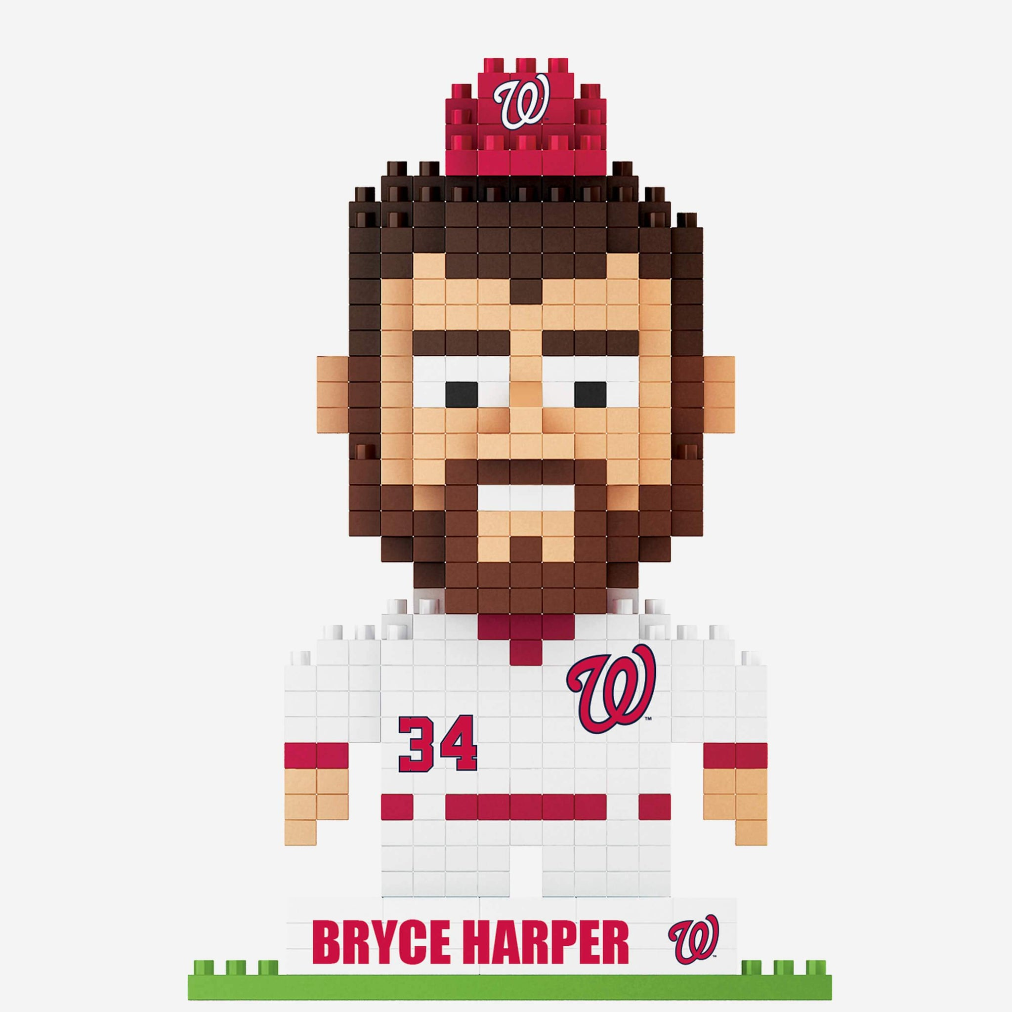 Bryce Harper Washington Nationals BRXLZ Mini Player