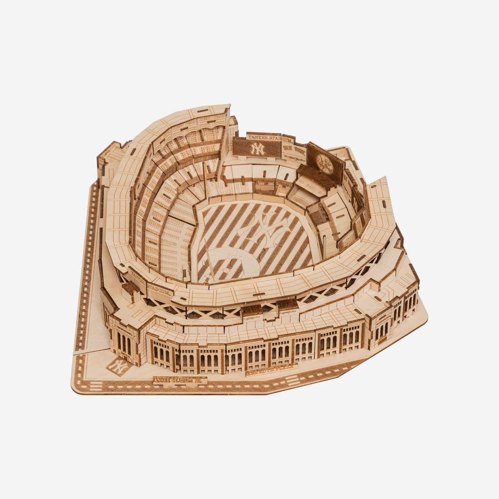 New York Yankees Wood PZLZ Stadium FOCO - FOCO.com