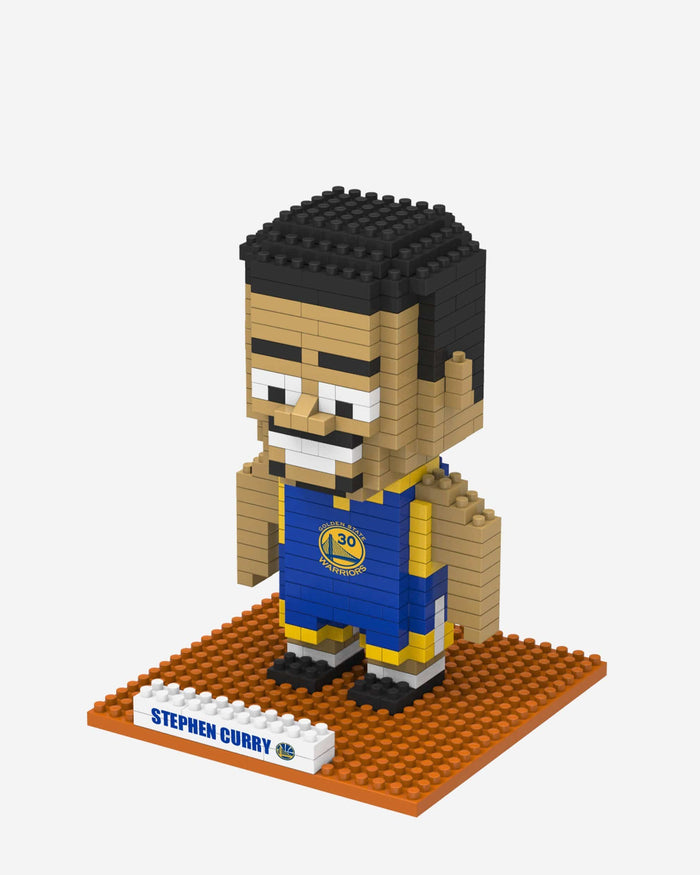 Steph Curry Golden State Warriors BRXLZ Mini Player FOCO - FOCO.com