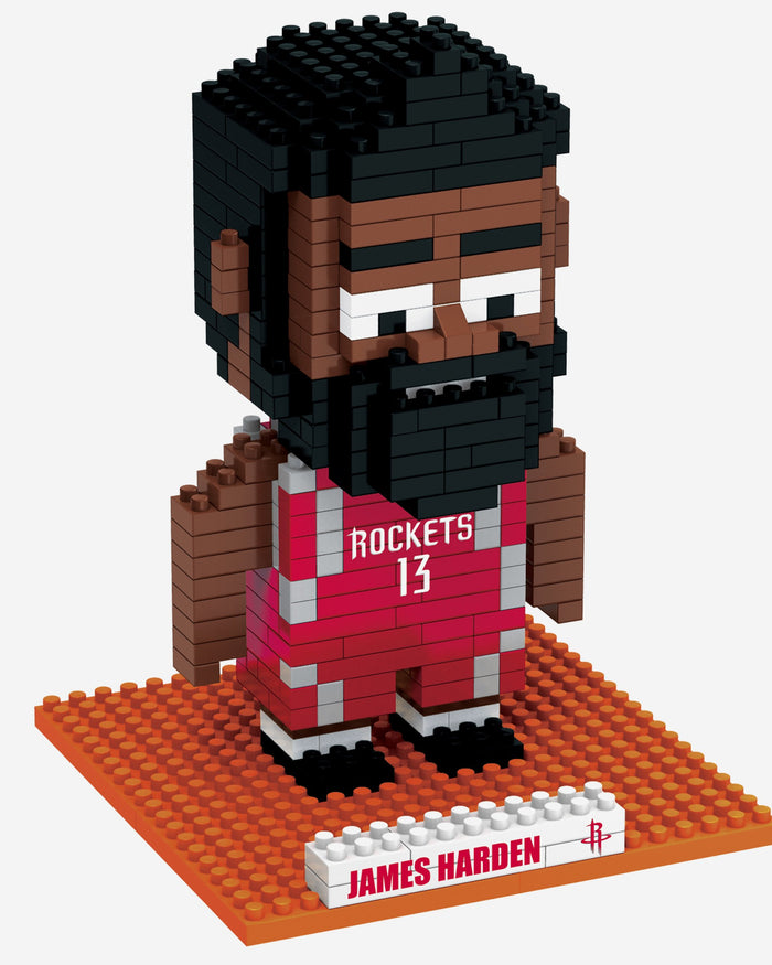 James Harden Houston Rockets BRXLZ Mini Player FOCO - FOCO.com