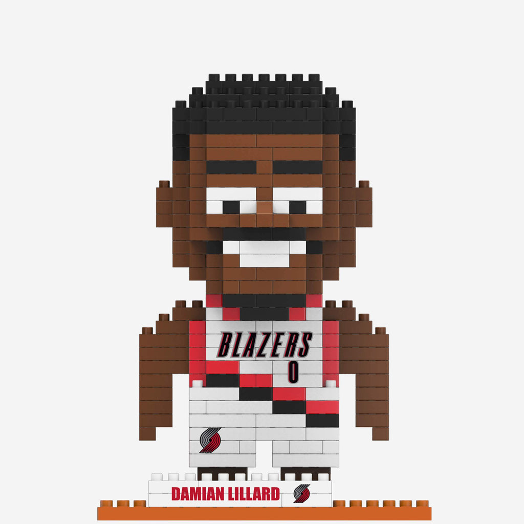 Damian Lillard Portland Trail Blazers BRXLZ Mini Player