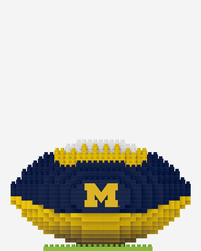 Michigan Wolverines BRXLZ Football FOCO - FOCO.com