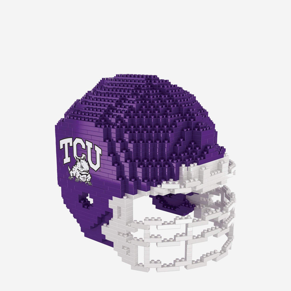 TCU Horned Frogs BRXLZ Mini Helmet FOCO - FOCO.com