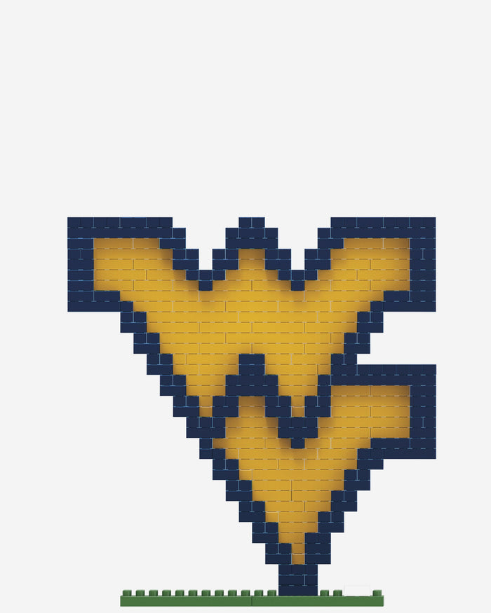 West Virginia Mountaineers BRXLZ Logo FOCO - FOCO.com
