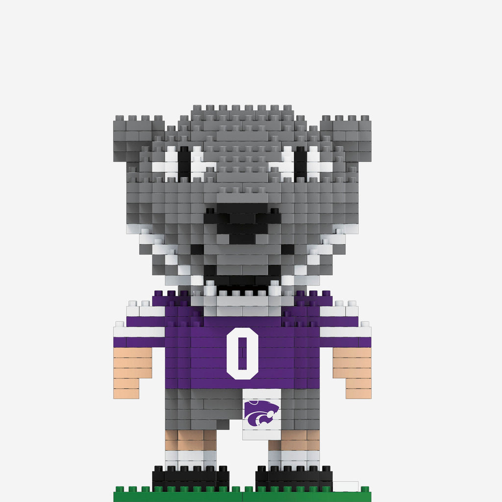 Willie the Wildcat Kansas State Wildcats BRXLZ Mascot