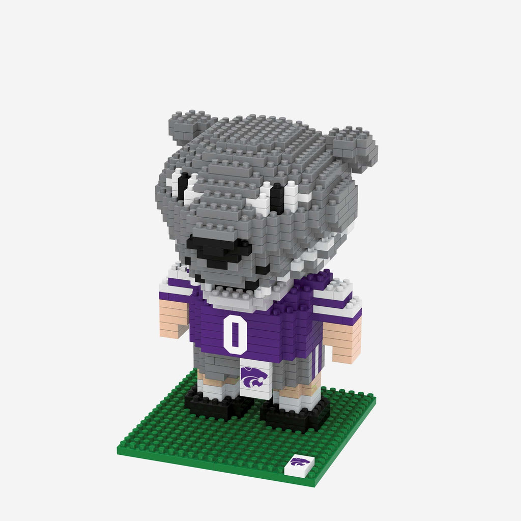Willie the Wildcat Kansas State Wildcats BRXLZ Mascot FOCO - FOCO.com