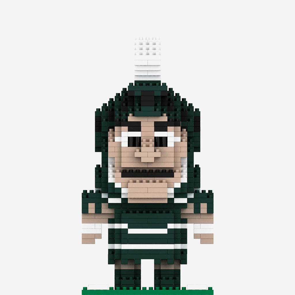 Sparty Michigan State Spartans BRXLZ Mascot