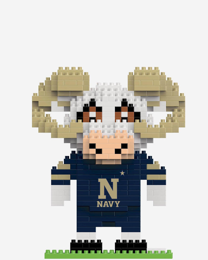 Bill The Goat Navy Midshipmen BRXLZ Mascot FOCO - FOCO.com