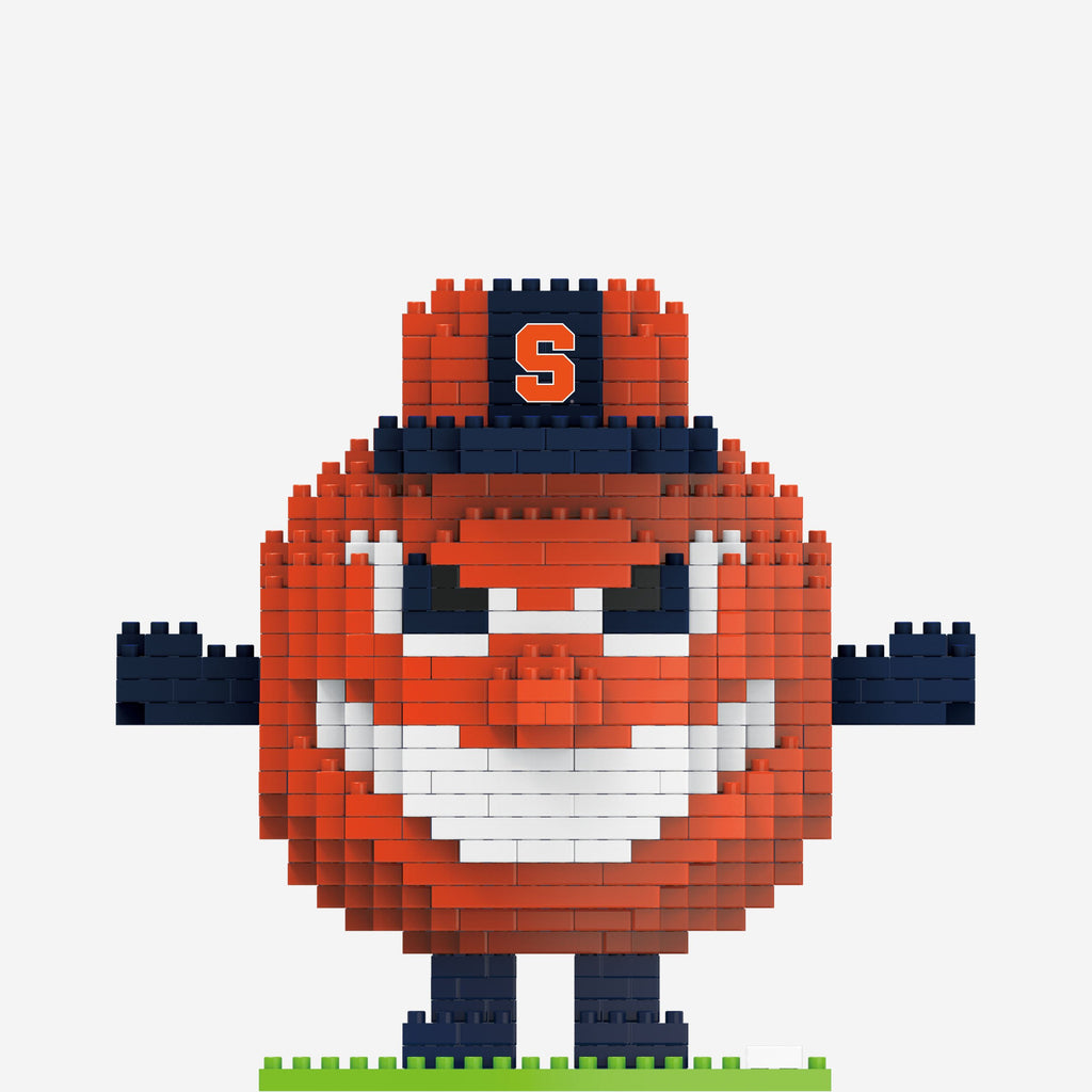 Otto the Orange Syracuse Orange BRXLZ Mascot