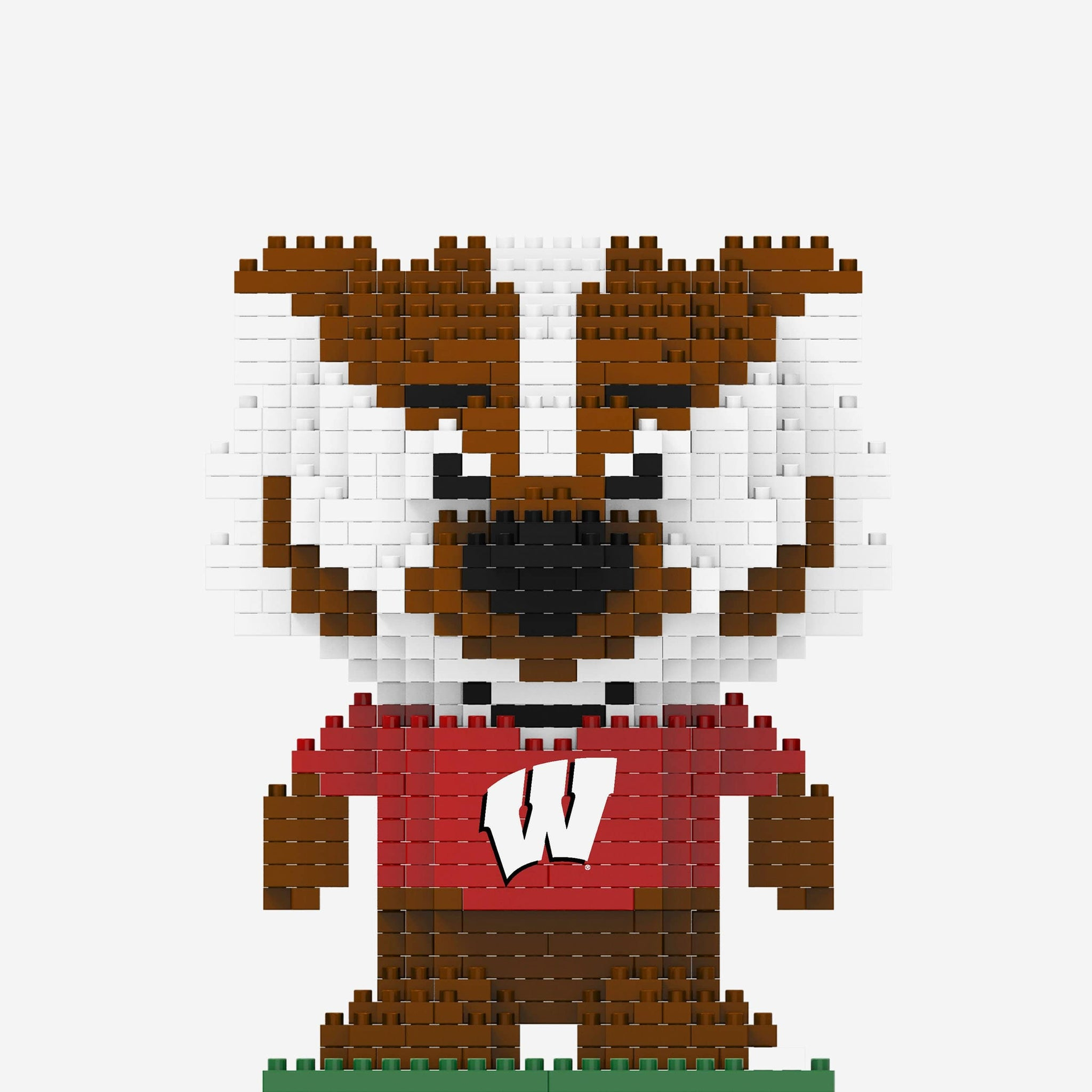Bucky Badger Wisconsin Badgers BRXLZ Mascot