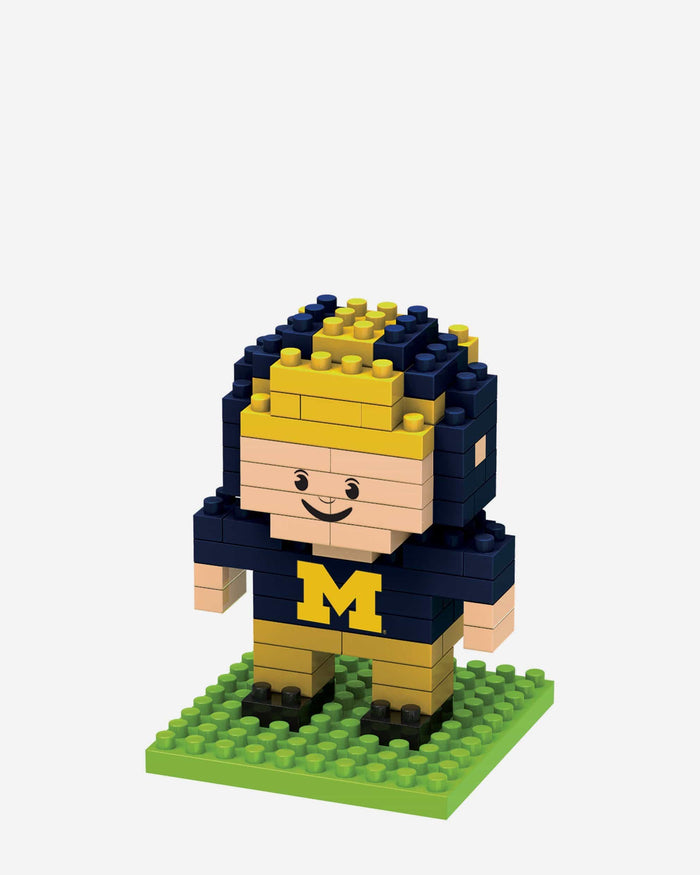 Michigan Wolverines BRXLZ Mini Player FOCO - FOCO.com