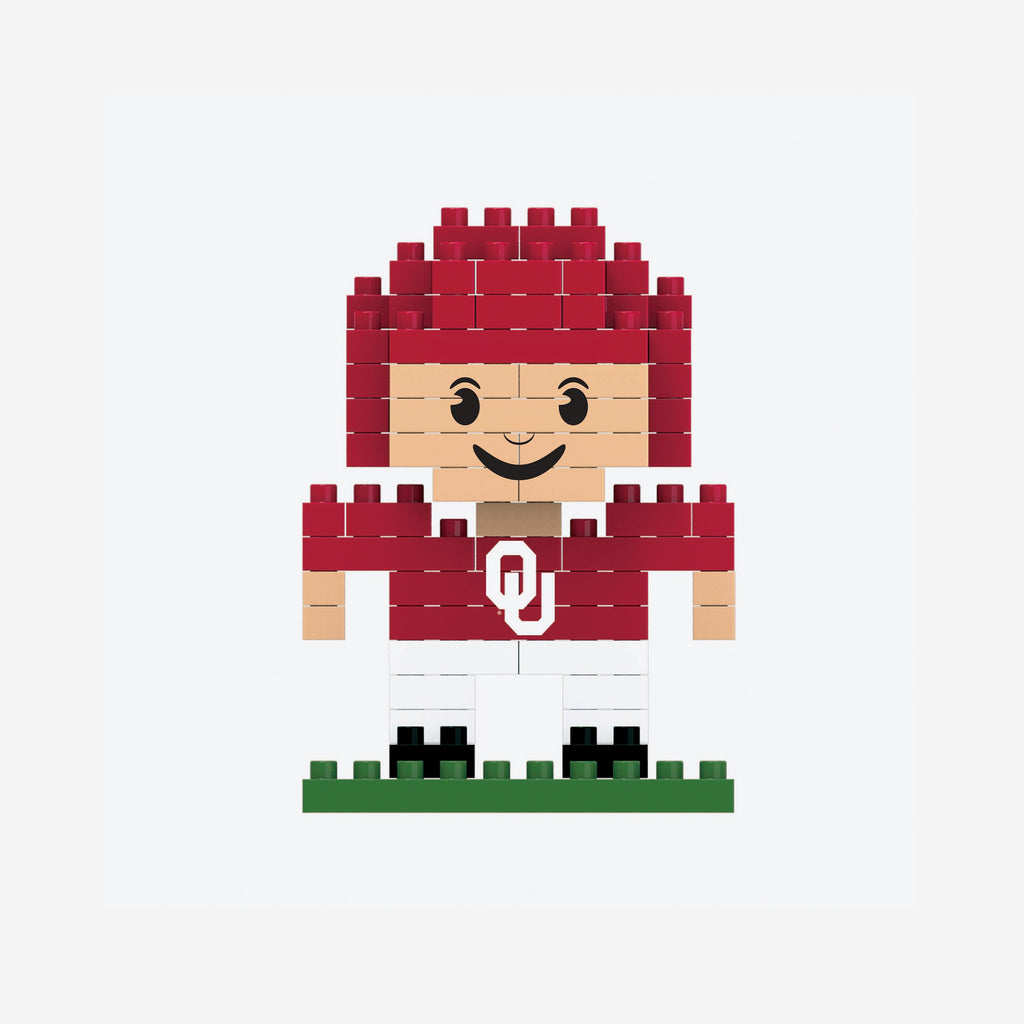 Oklahoma Sooners BRXLZ Mini Player FOCO - FOCO.com
