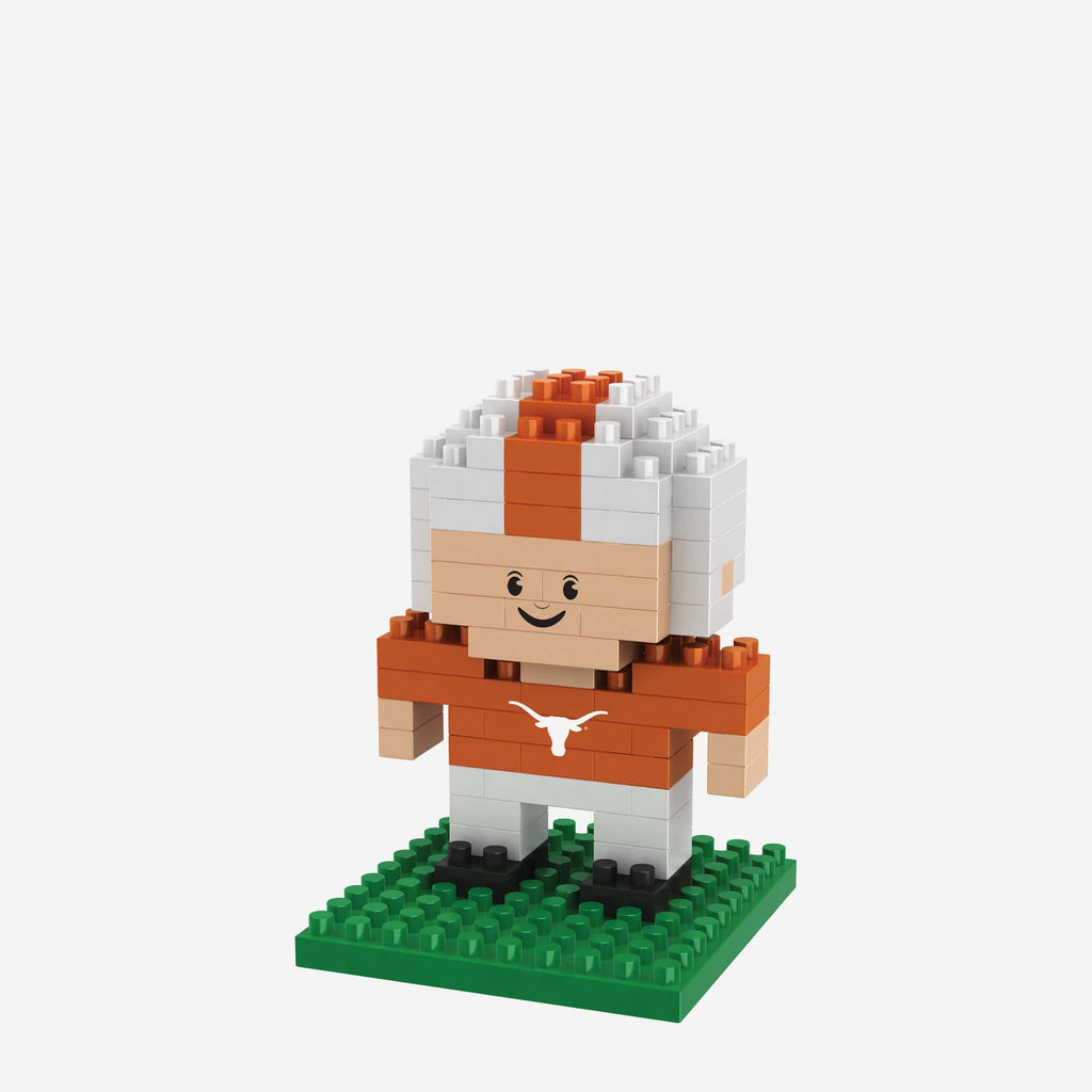 Texas Longhorns BRXLZ Mini Player FOCO - FOCO.com