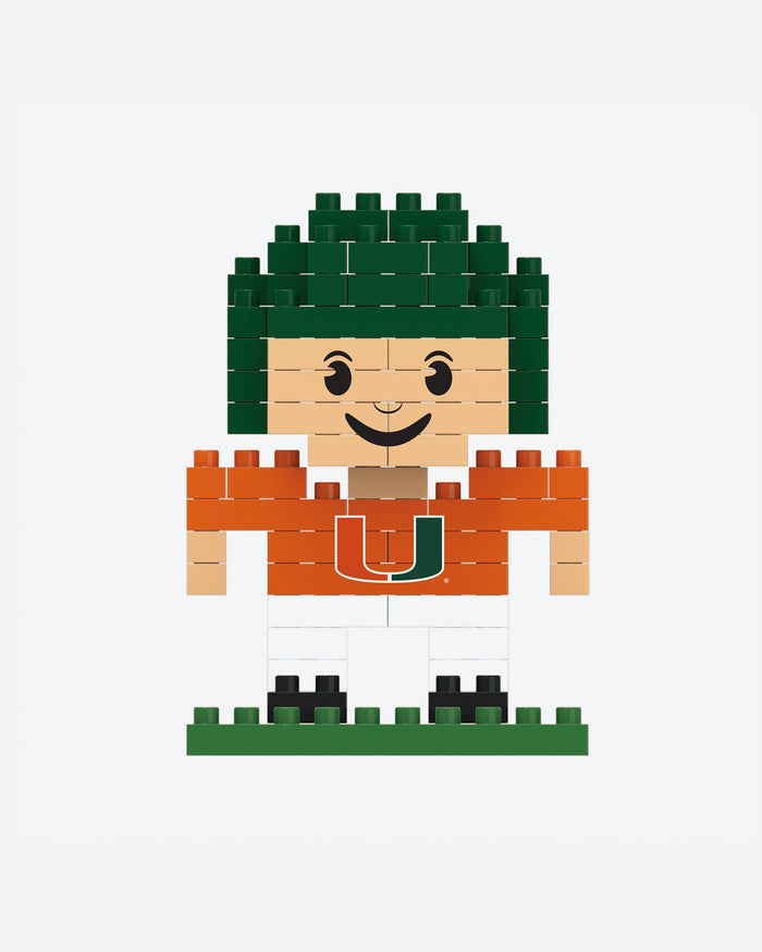 Miami Hurricanes BRXLZ Mini Player FOCO - FOCO.com