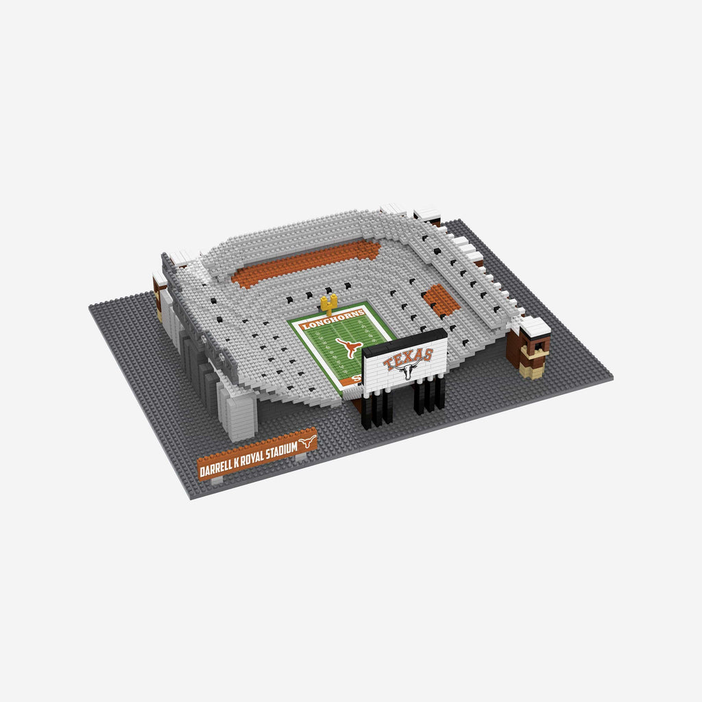 Texas Longhorns Darrell K Royal–Texas Memorial BRXLZ Stadium FOCO - FOCO.com