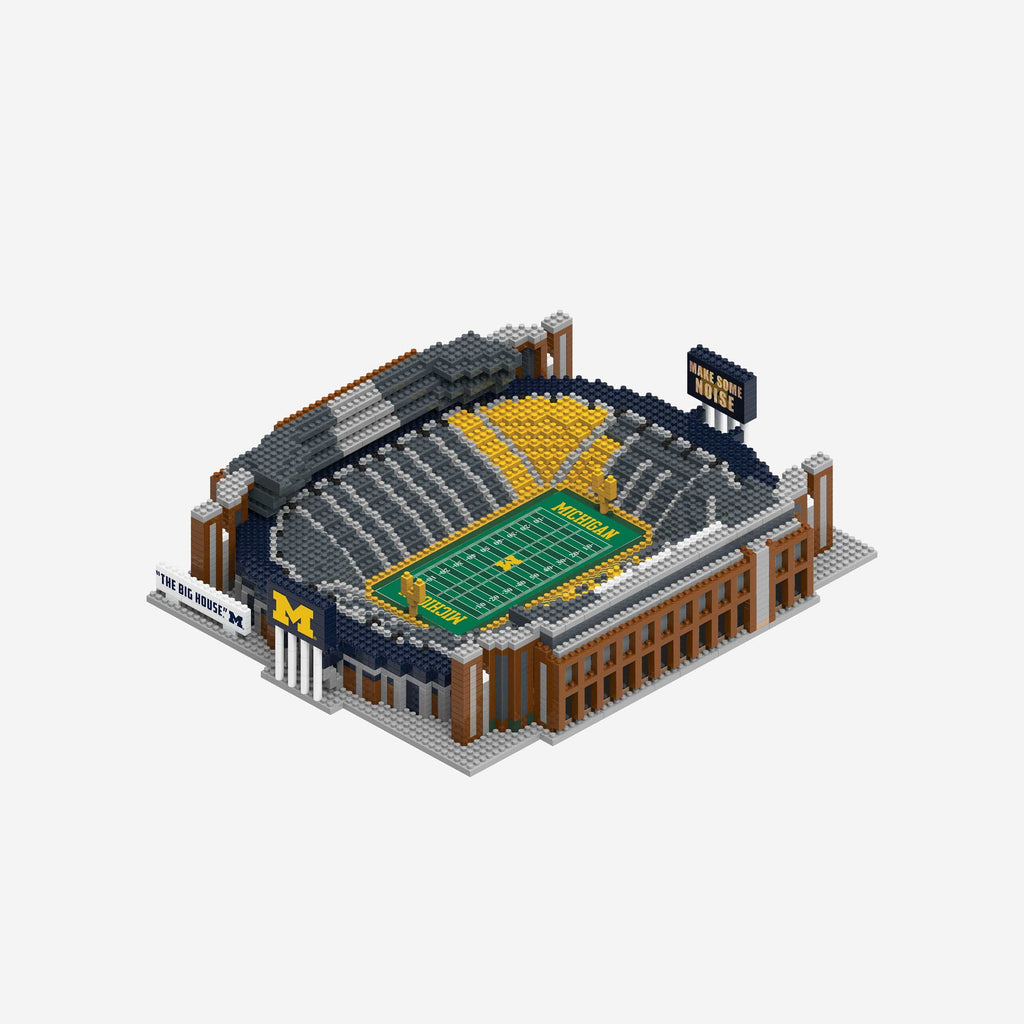 Michigan Wolverines BRXLZ Stadium