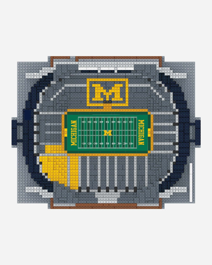 Michigan Wolverines BRXLZ Stadium FOCO - FOCO.com