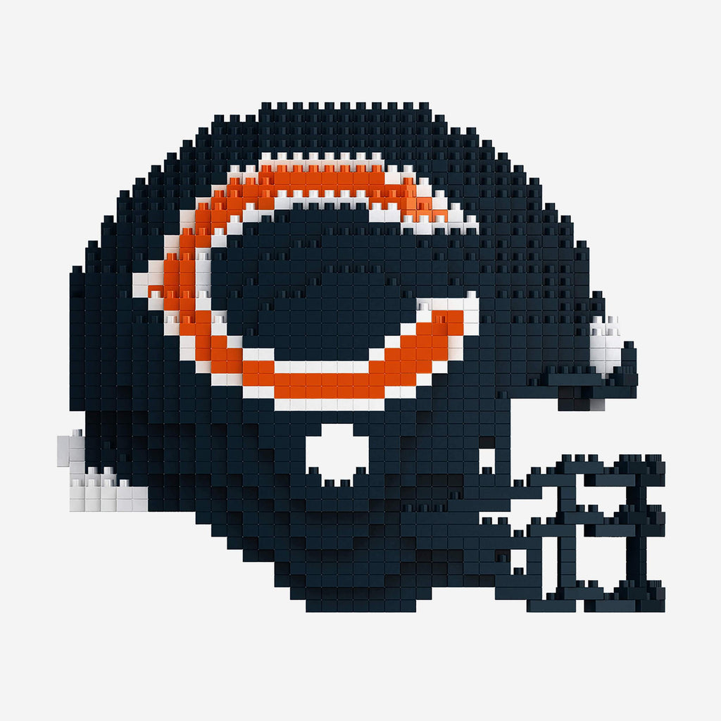 Chicago Bears BRXLZ Mini Helmet