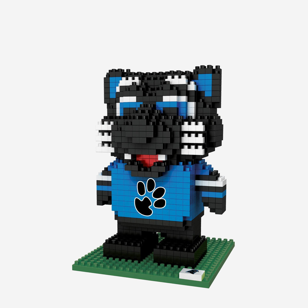Sir Purr Carolina Panthers BRXLZ Mascot FOCO - FOCO.com