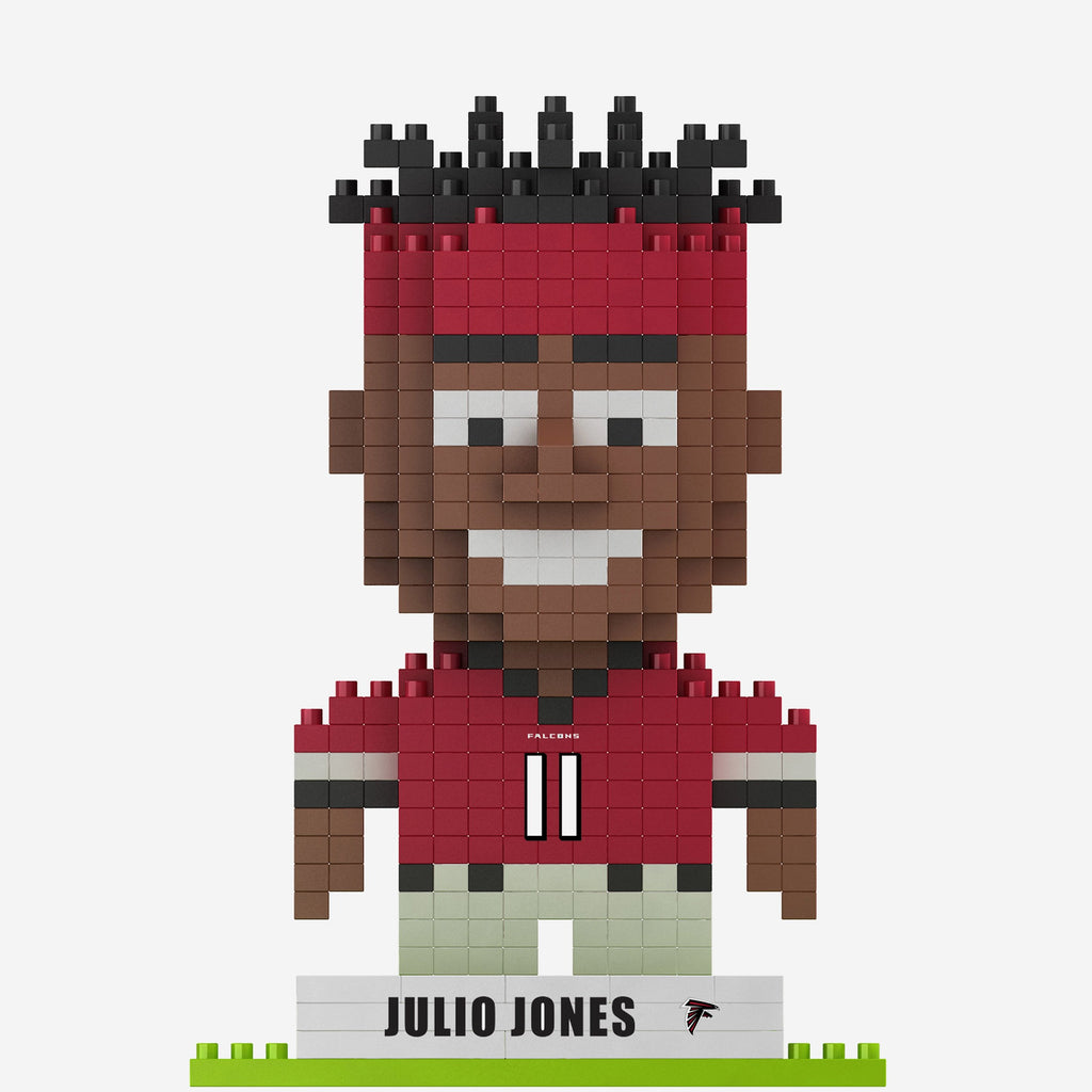 Julio Jones Atlanta Falcons BRXLZ Mini Player