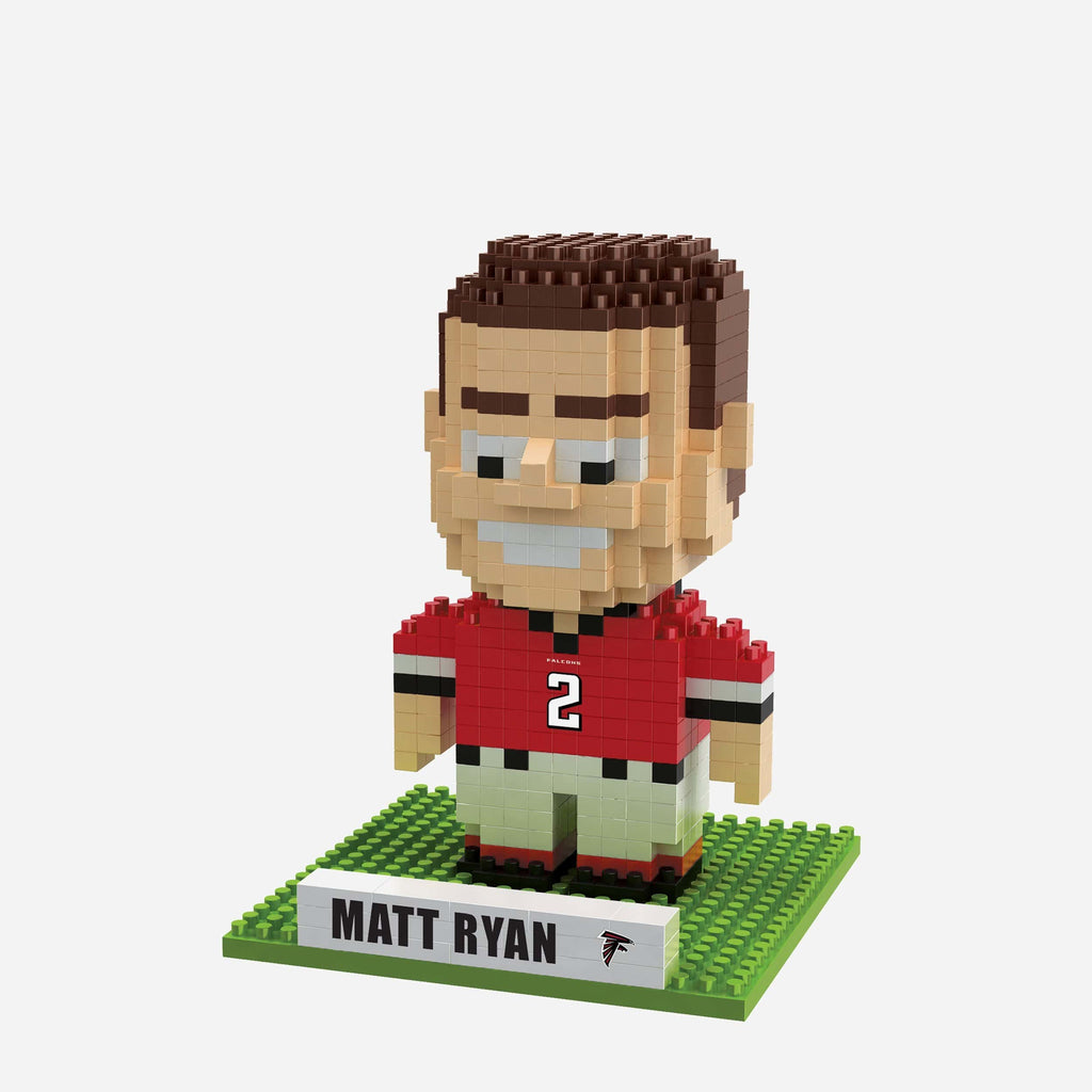 Matt Ryan Atlanta Falcons BRXLZ Mini Player FOCO - FOCO.com