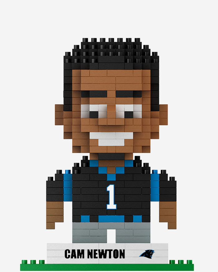 Cam Newton Carolina Panthers BRXLZ Mini Player FOCO - FOCO.com