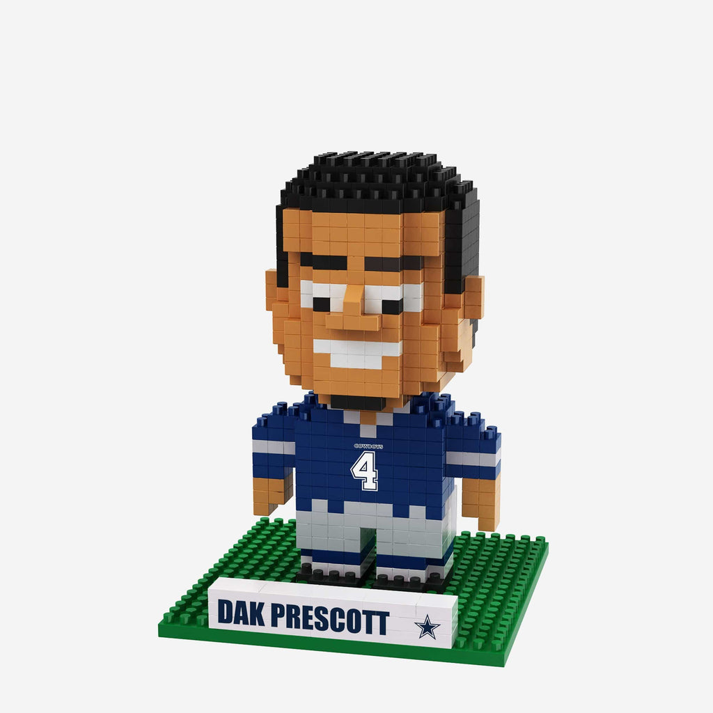 Dak Prescott Dallas Cowboys BRXLZ Mini Player FOCO - FOCO.com