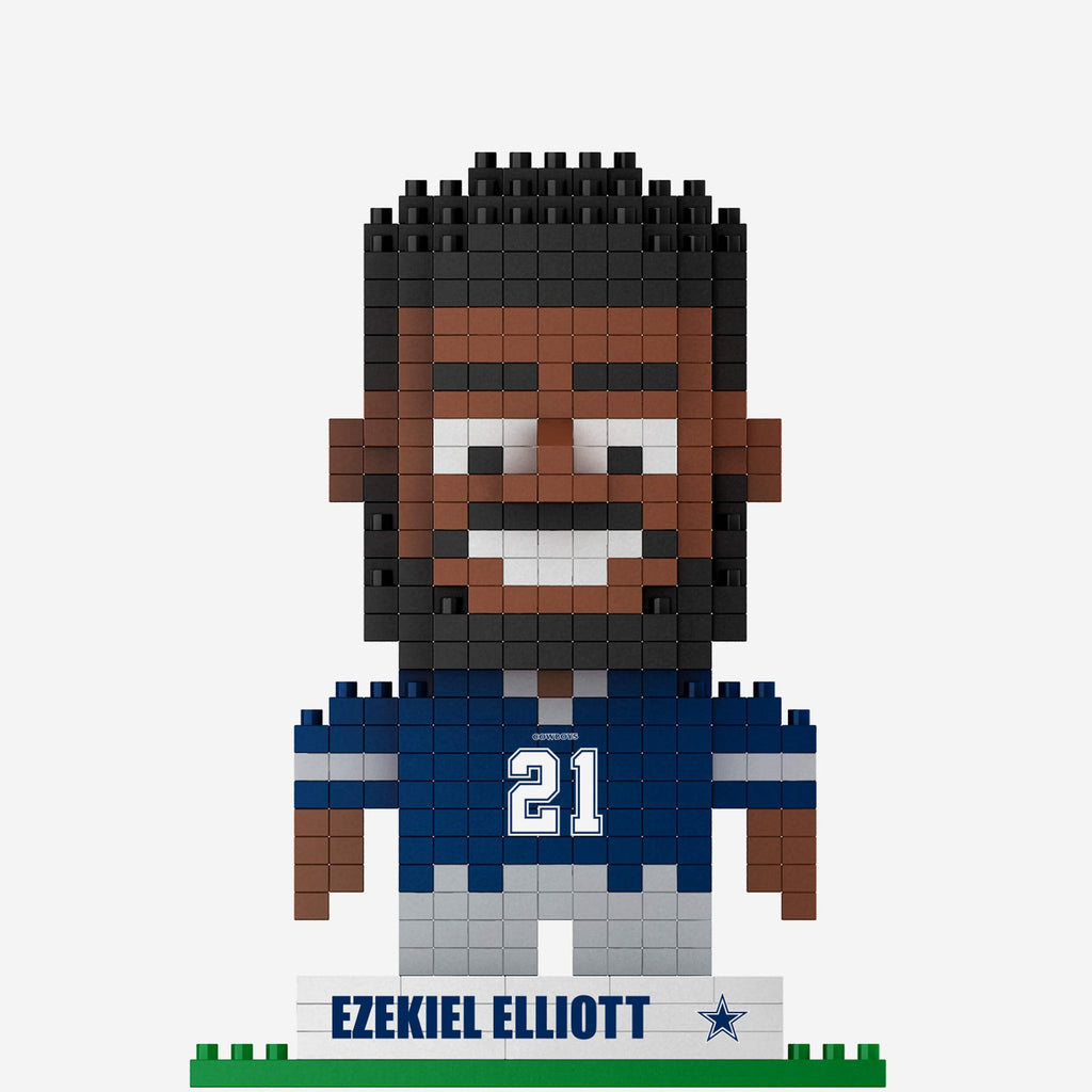 Ezekiel Elliot Dallas Cowboys BRXLZ Mini Player