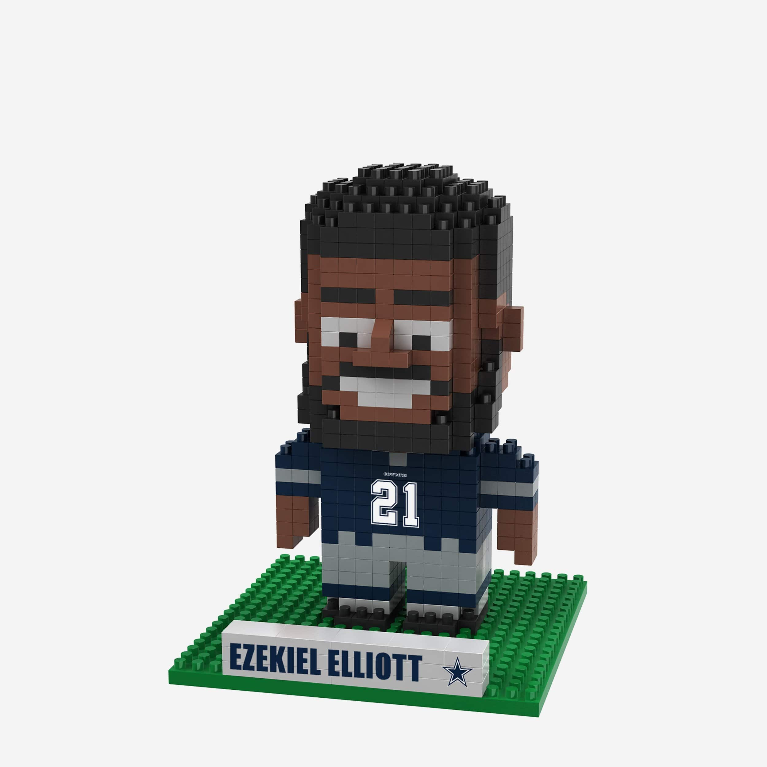3cea2cb24 Ezekiel Elliot Dallas Cowboys BRXLZ Mini Player FOCO.com