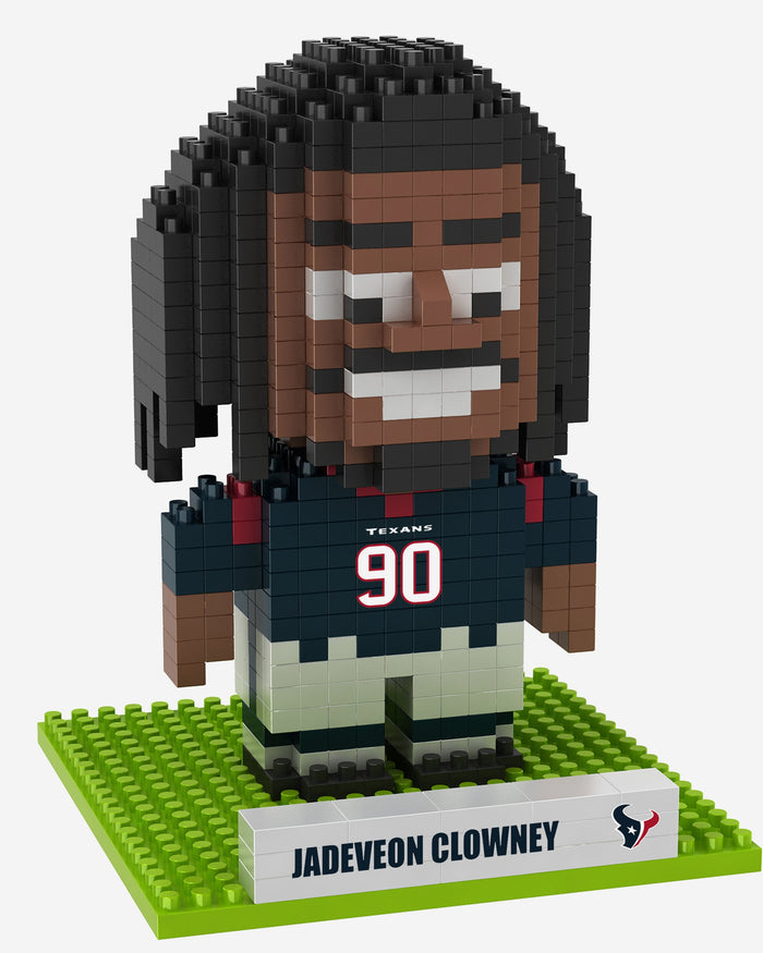 Jadeveon Clowney Houston Texans BRXLZ Mini Player FOCO - FOCO.com