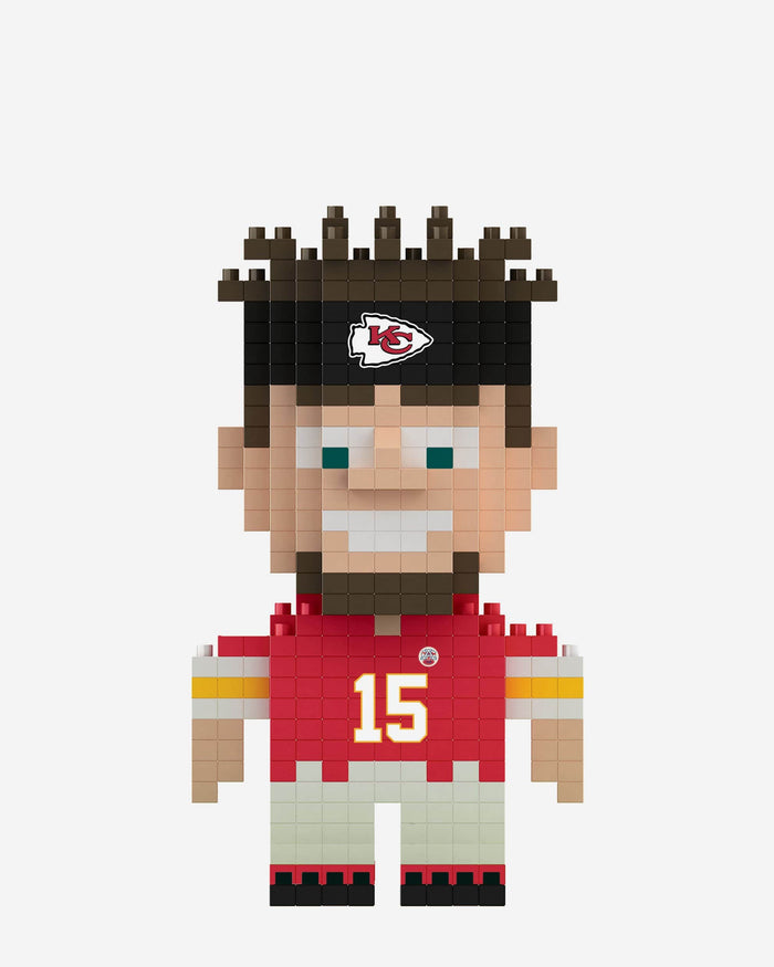 Patrick Mahomes Kansas City Chiefs BRXLZ Mini Player FOCO - FOCO.com