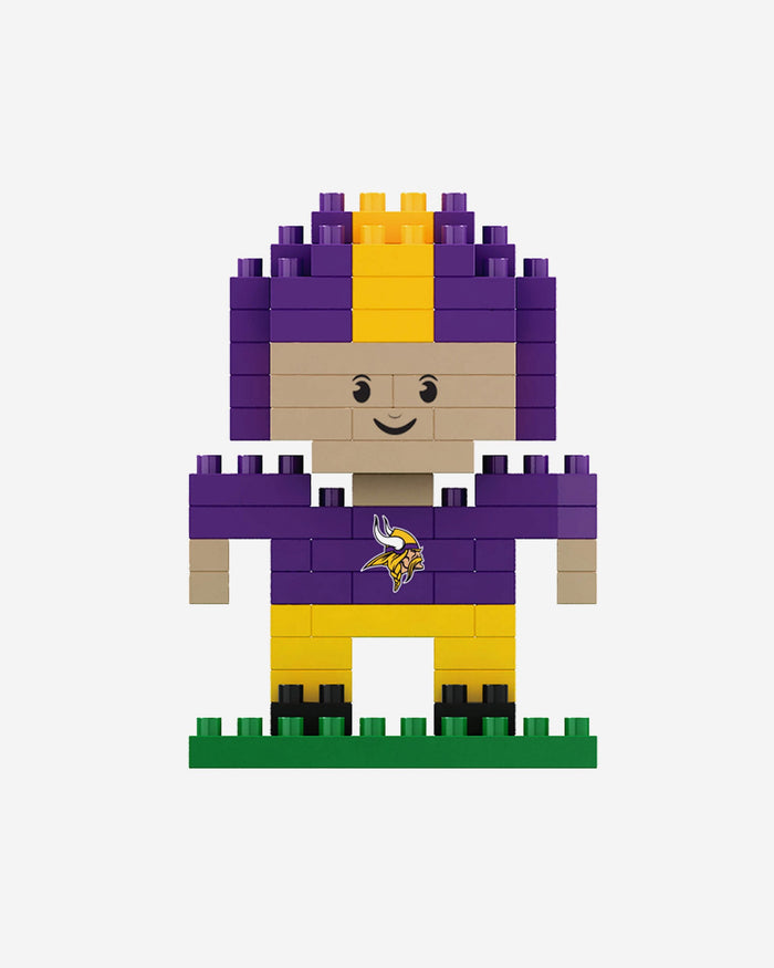 Minnesota Vikings BRXLZ Mini Player FOCO - FOCO.com