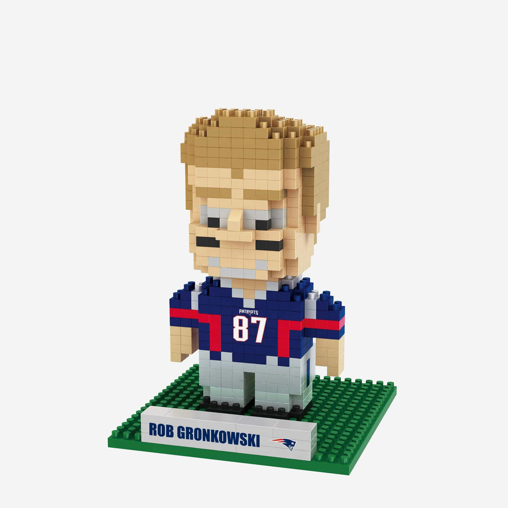 Rob Gronkowski New England Patriots BRXLZ Mini Player FOCO - FOCO.com