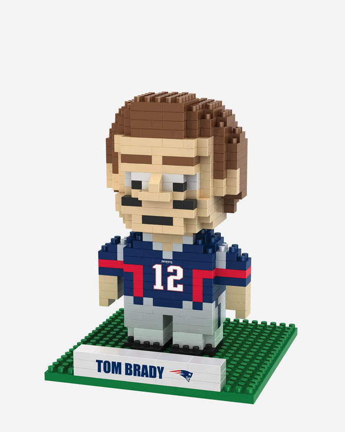 Tom Brady New England Patriots BRXLZ Mini Player FOCO - FOCO.com