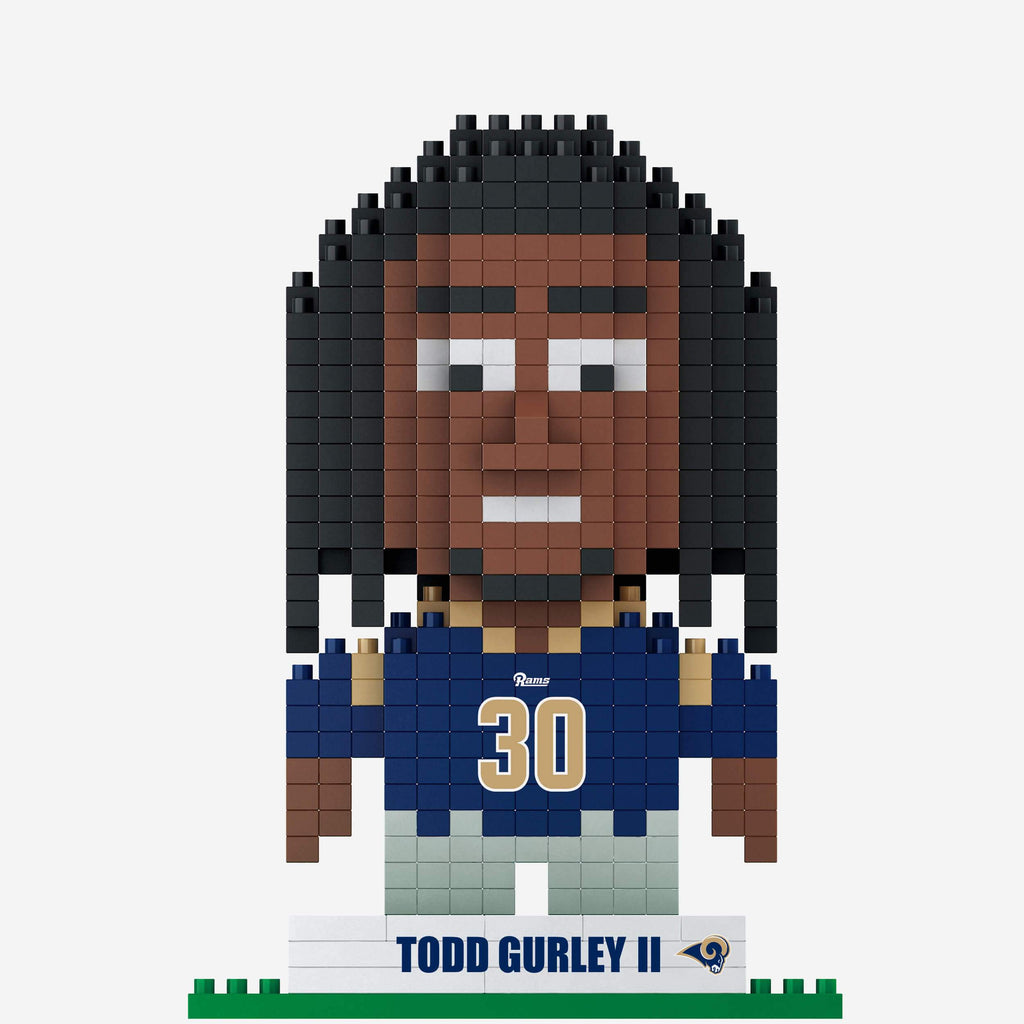 Todd Gurley Los Angeles Rams BRXLZ Mini Player