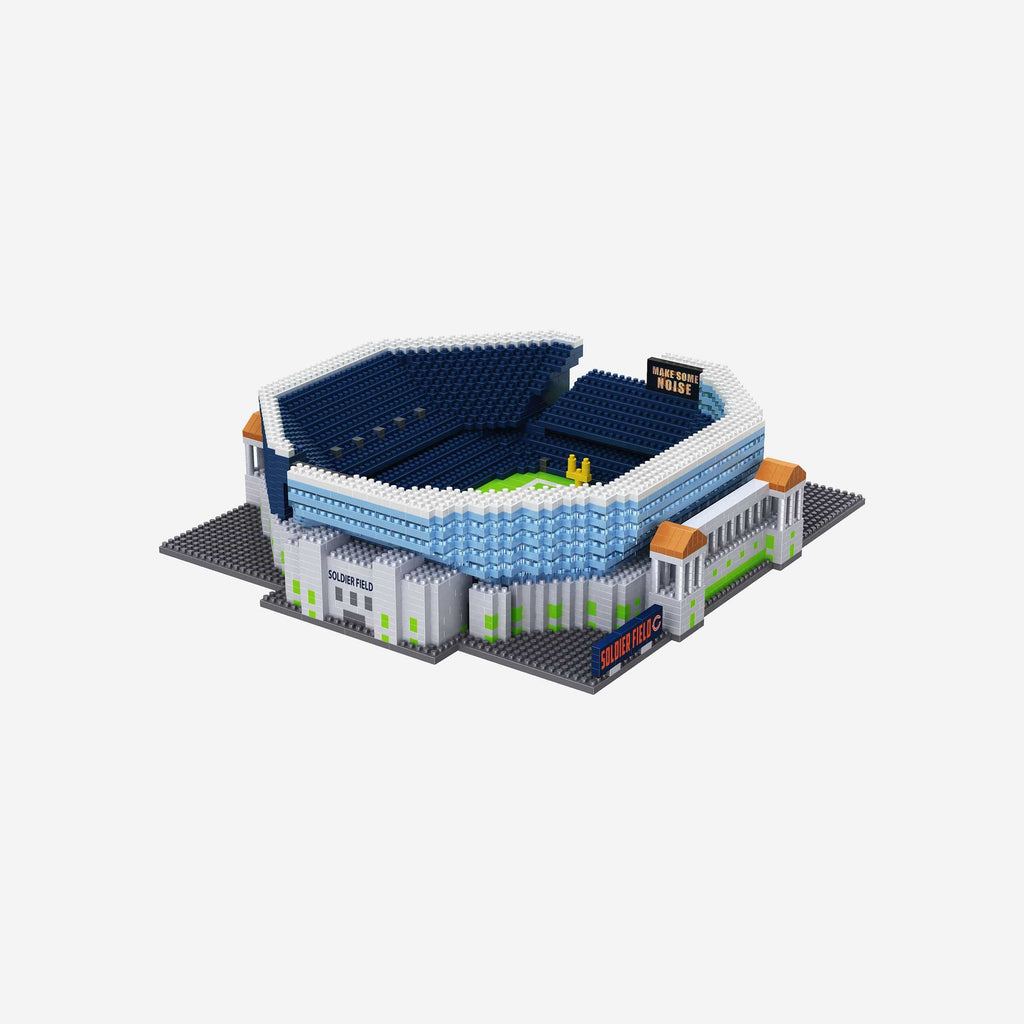 Chicago Bears Soldier Field BRXLZ Stadium